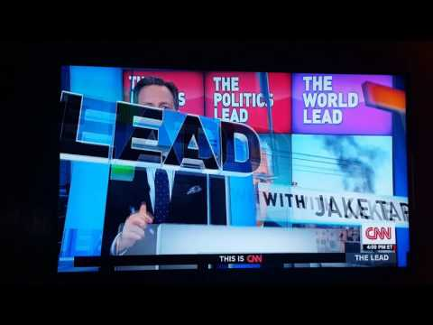 Jake tapper cnn blooper