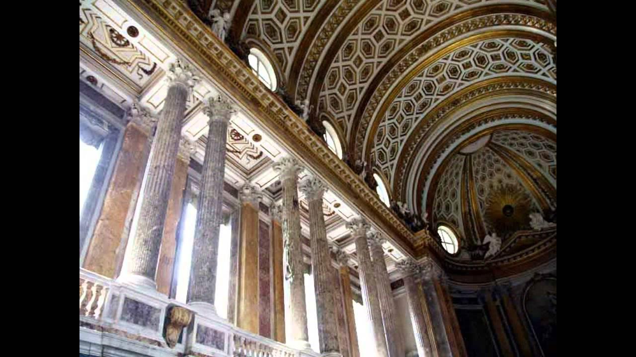 Cappella Palatina Reggia Di Caserta Interni.5 La Cappella Palatina Della Reggia Di Caserta Youtube