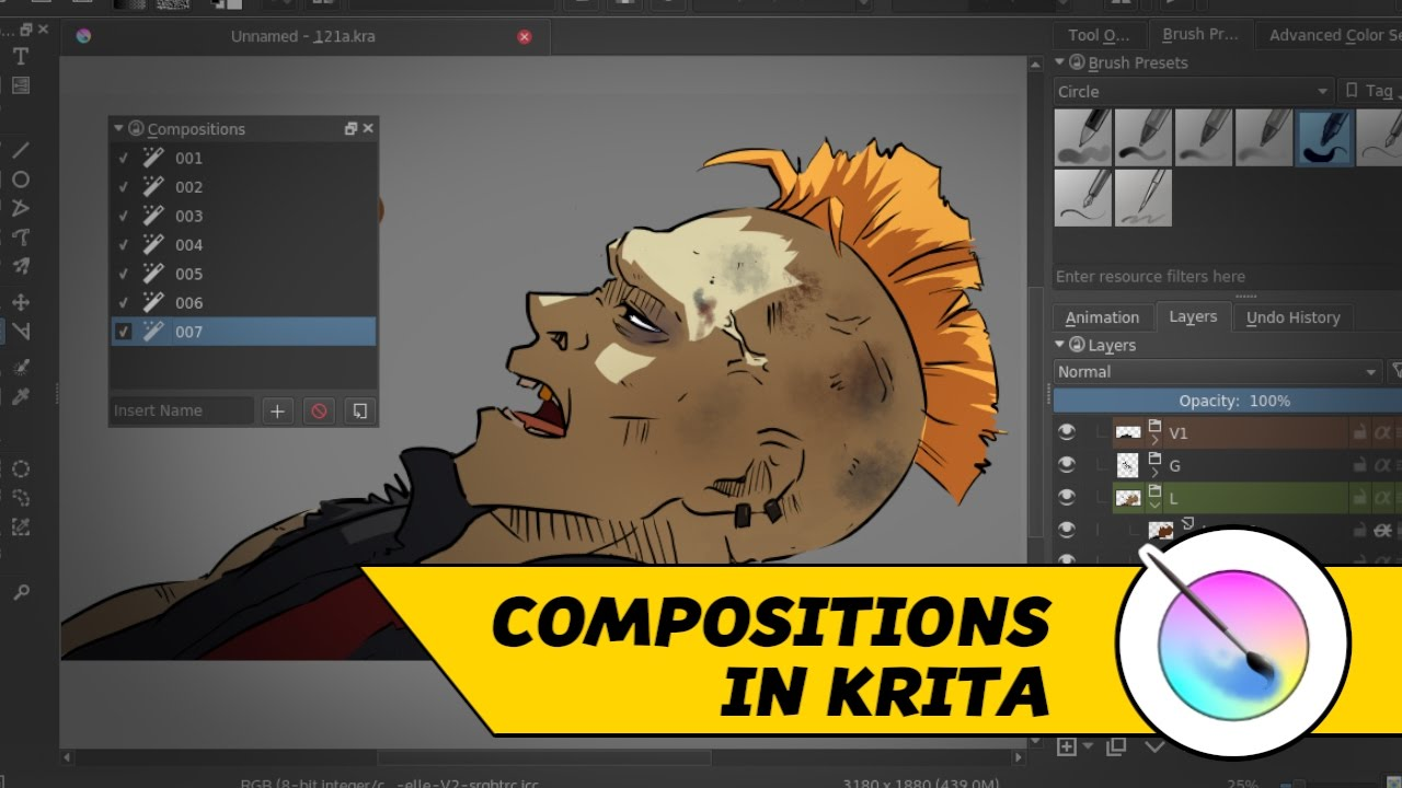 Krita: How To Test Your Lipsync Artwork Usingpositions