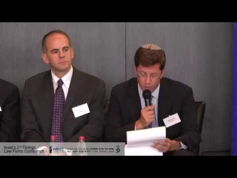 Panel- Israel under the Microscope- Israel's 2nd foreign law firms conference