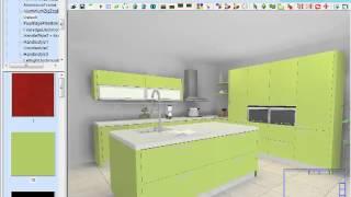 KD Max Kitchen design Demo Video 01