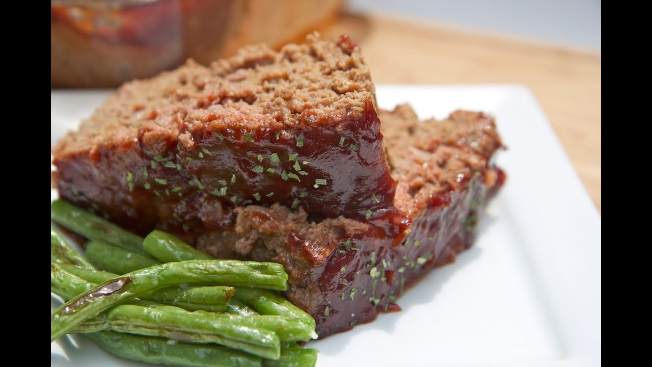 Man pleasing meatloaf recipe easy moist and flavorful youtube forumfinder Images