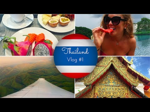 Thailand Vlog #1 Arriving in Chiang Mai + Old City + Doi Suthep + Experiencing Monsoons!!