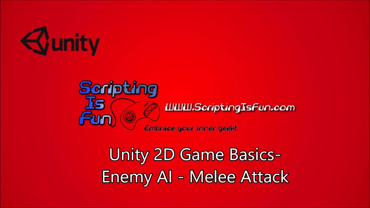 Unity 2D Game Basics - Enemy AI - Melee Attack