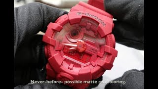 CASIO G-SHOCK 35th ANNIVESARY RED OUT GA735C-4A