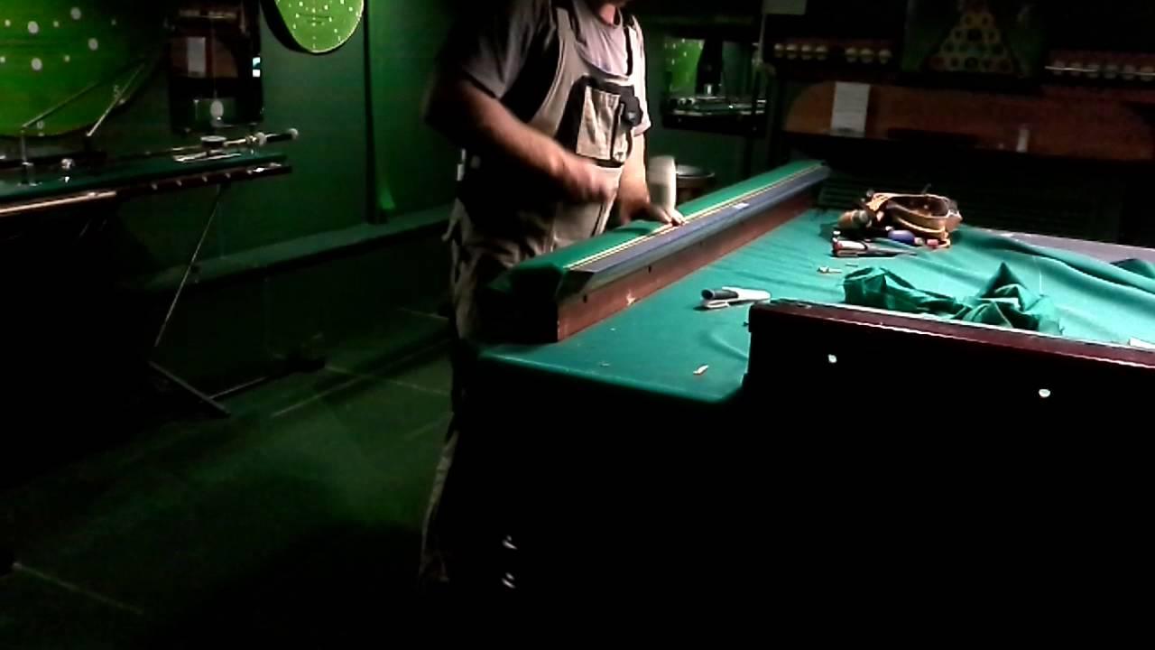 Бильярдный стол - YouTube