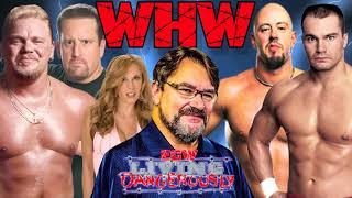 Tony Schiavone calls Tommy Dreamer and Shane Douglas with Francine vs the Impact Players
