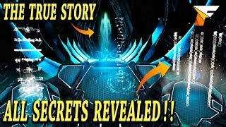 ARK ALL SECRETS REVEALED & DECODED!! THE TRUE STORY OF ARK SURVIVAL EVOLVED AND THE ENDING!!!