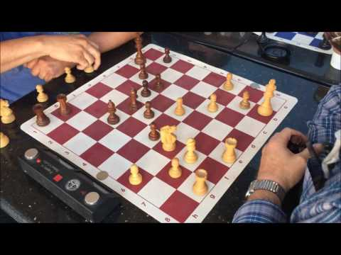 """SICK Endgame – """"Pieces Mean Nothing!"""" – GM Trash Talker The Great Carlini vs. """"Attacking"""" Al"""