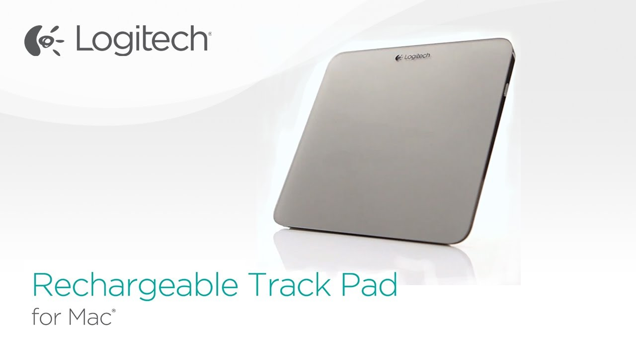 5f1ce2c9c46 Logitech Rechargable Trackpad for Mac - YouTube