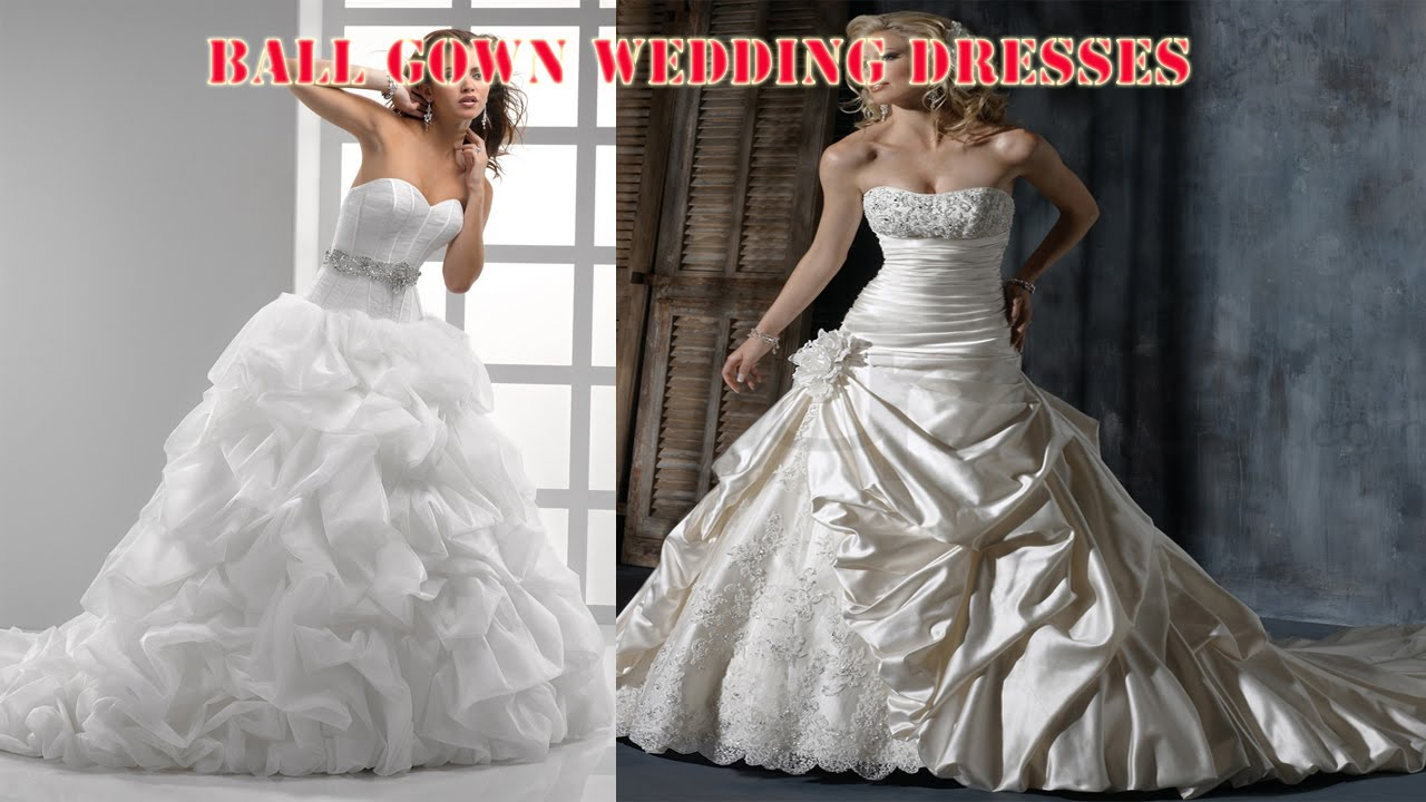20 Best Ball Gown Wedding Dresses - YouTube