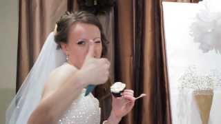 видео торт с капкейками