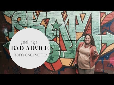 Getting Bad Advice| Lisa in the city Vlog