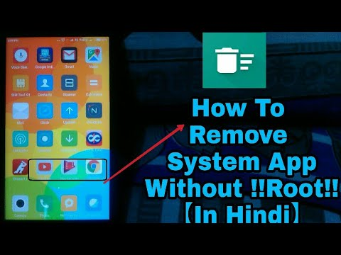 How to Remove System Apps Without Root in any Android Device (without PC)