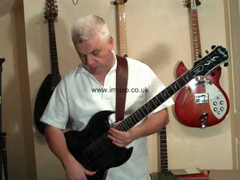 review of the epiphone sg custom prophecy electric guitar youtube. Black Bedroom Furniture Sets. Home Design Ideas