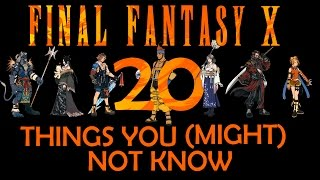 final fantasy x 20 things you didnt know spoilers