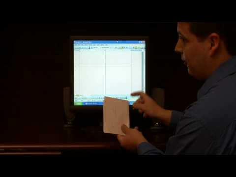 Computer Skills & Shortcuts : How to Create a Four-Fold Greeting Card in a Word-Processing Program