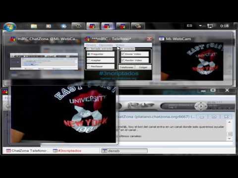 Telecomunicacion via Mirc Cam