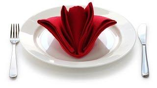 DIY: 3 СПОСОБА КРАСИВО СЛОЖИТЬ САЛФЕТКИ ДЛЯ  СТОЛА / How to fold napkins / Сервировка стола