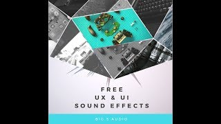 FREE UIUX INTERFACE SOUNDS