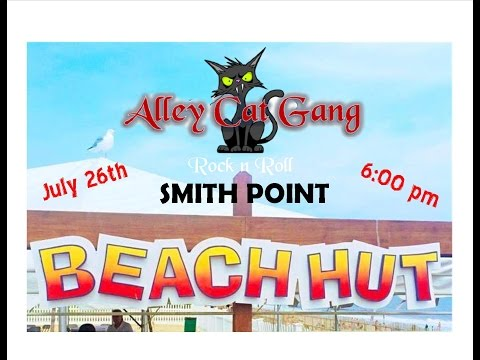 Alley Cat Gang At Smith Point Beach Hut The Ocean 7