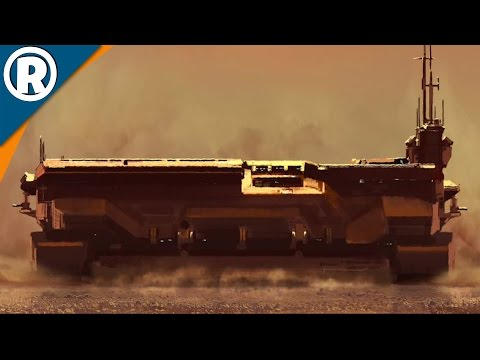 GIANT DESERT AIRCRAFT CARRIER - Homeworld: Deserts of Kharak