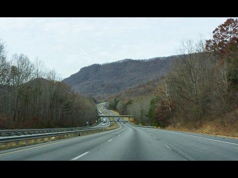 14-Bonus: I-26 West, The Road to Asheville NC  (60fps)