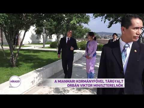 A mianmari kormányfővel tárgyalt Orbán Viktor miniszterelnök