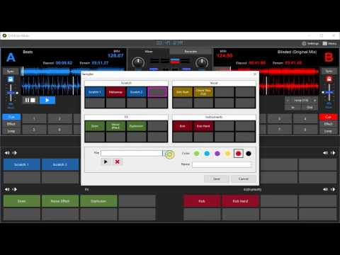 How to Use Sampler in DJ Music Mixer