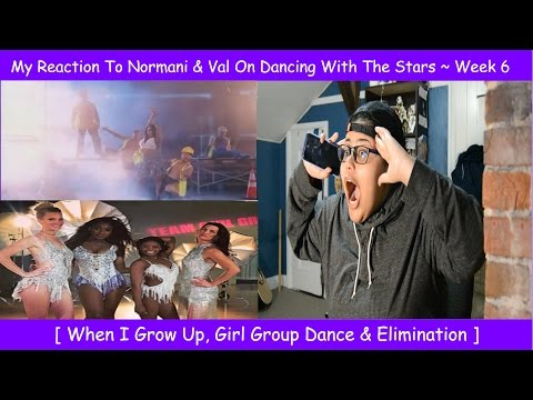 My Reaction To Normani & Val On Dancing With The Stars ~ Week 6 ~ Girl Group Dance ~ Elimination