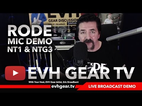 Testing The Rode NTG3 & NT1 Microphones