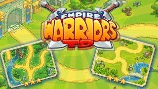 ROZBUDOWANY TOWER DEFENSE | #001 | Empire Warriors TD | PL