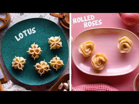 Fold Up! It's Dumpling Time! 10 Doughy Dumpling Designs to Try at Home! So Yummy