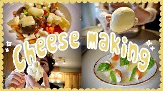 Canada vlog  | 국제커플 치즈만들기 데이트 …