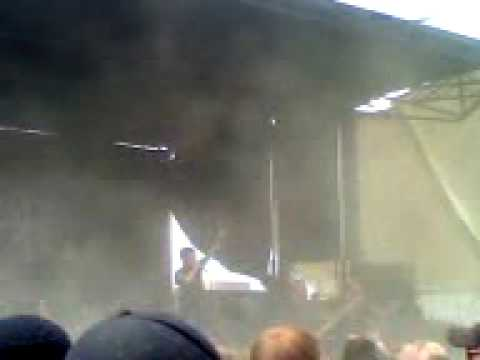 White Chapel- Posessions live at Rockstar Mayhem Festival 2009 Denver Colorado