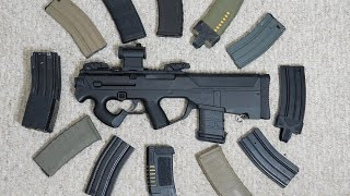 DICE Airsoft: PTS PDR-C Magazine Compatability Test