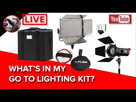 🔴 What's In My Go To Lighting Kit Right Now?