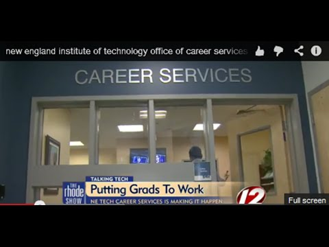 Office of Career Services at New England Institute of Technology is putting students to work.