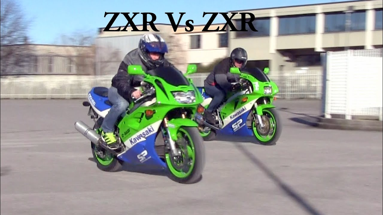 Kawasaki ZXR 400 Vs Sport Production Road Test
