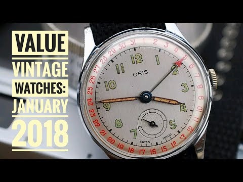 Best Value Vintage Watches: January 2018