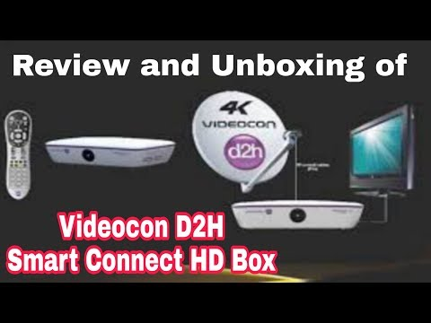 Videocon D2h Hd Smart Connect Box, Review And Unboxing
