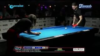 **MUST SEE**  Eklent Kaçi Runs an 8-Racks against Alex Pagulayan! 10-Ball / Amazing!