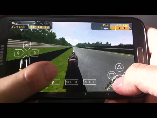 [PPSSPP 0.9.9.1 Emulator] SBK-09 SUPERBIKE WORLD CHAMPIONSHIP - PSP on Android