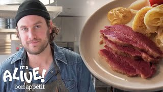 Brad Makes Perfect Corned Beef | It's Alive | Bon Appetit