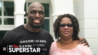 Titus O\'Neil\'s mom on having her son when she was 11 years old: My Son is a WWE Superstar