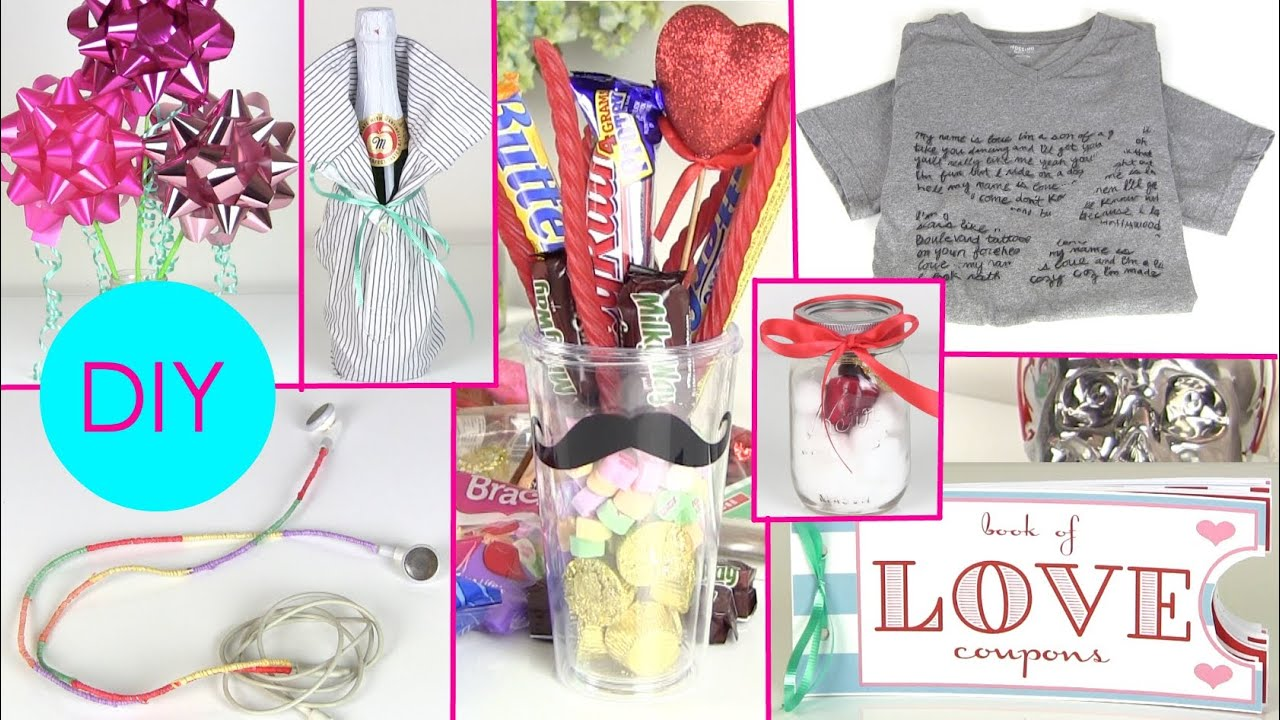 DIY Gift Ideas For Him Her 7 Boyfriends Or Girlfriends