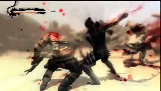 Blood and Sand - Ninja Gaiden 3 Gameplay (PS3)