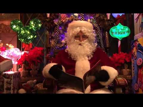 WSLM's Visit With Santa Claus