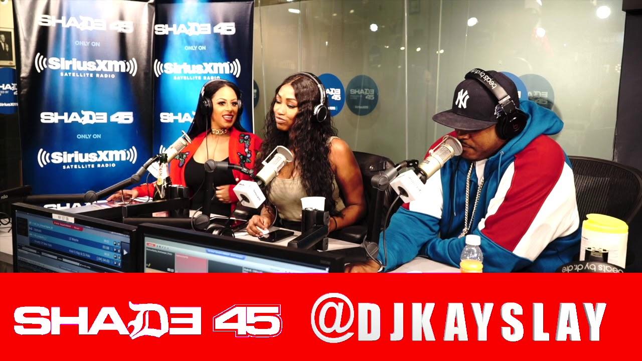 Oun P interview with Dj Kayslay  at Shade45 11/7/18
