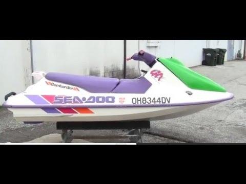 1992 Sea Doo GTX Jet Ski Walk Around Video